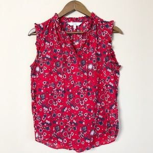 3/$30 & Other Stories Abstract Floral Top 138